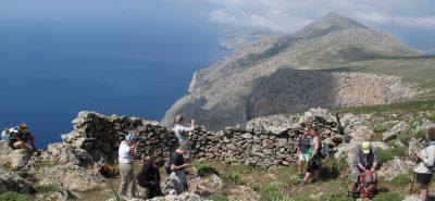 טיול הליכות באיי יוון