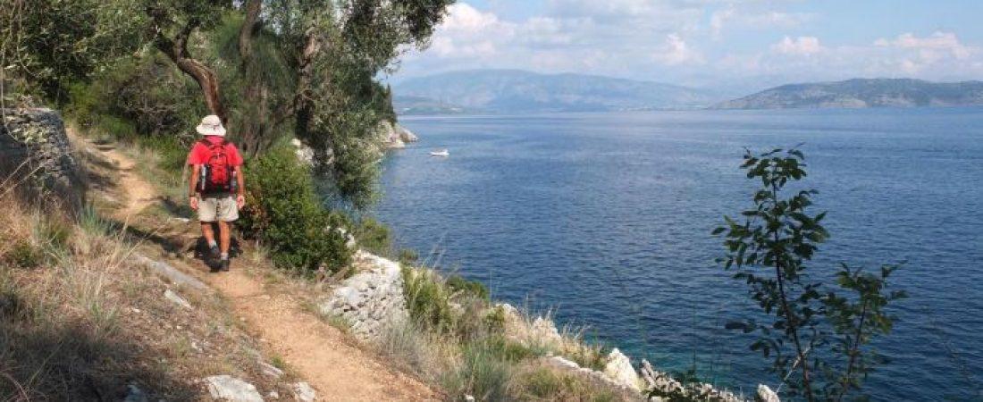 Trekking-Corfu
